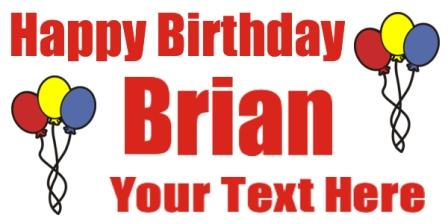 birthday banner sample
