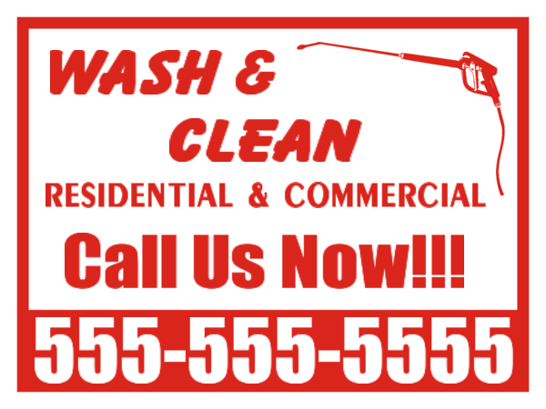 Window Cleaning Signs Cleaners Designs Cleaners Yard Sign