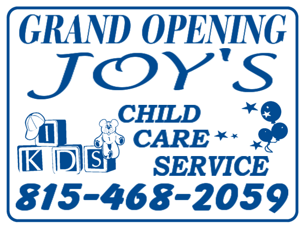Sign Layout Day Care Day Care Designs Day Care Yard Sign Designs Day Care Layout