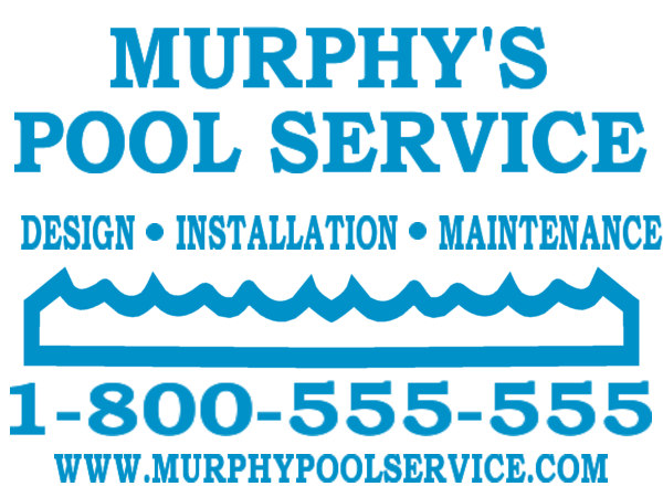 Sign Layout Pool Cleaning Pool Cleaning Designs Pool