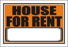 List of Synonyms and Antonyms of the Word house for rent sign