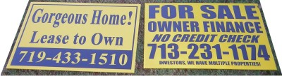 sign tips, who to make signs