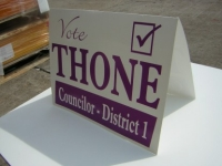 cardboard signs, election cardboard signs, campaign cardboard signs