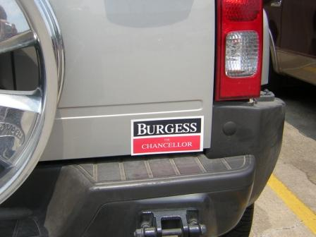 custom decals, political, election, campaign