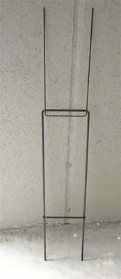 heavy duty wire sticks for coruggated plstic signs, lawn signs